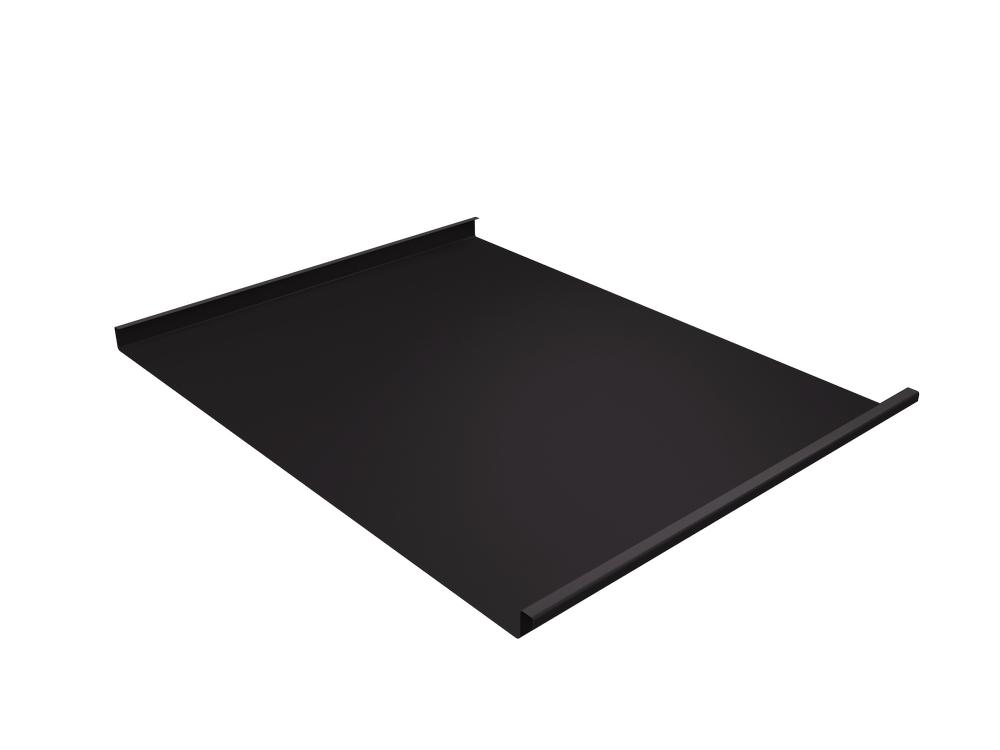 Панель двойной стоячий фальц Grand Line 0,5 мм Satin, RR 32 (т-коричневый)