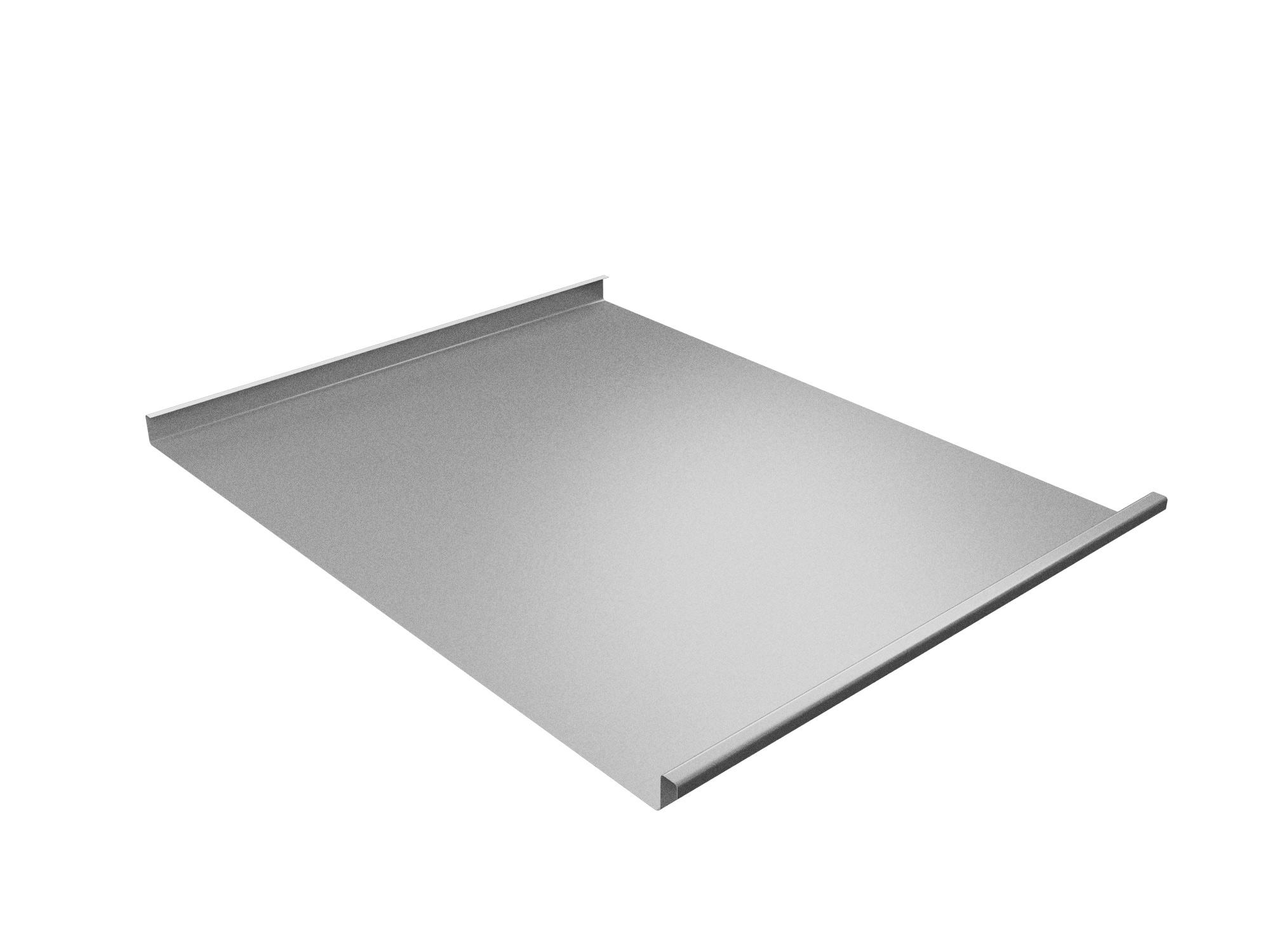 Панель двойной стоячий фальц 0,5 мм, Zn