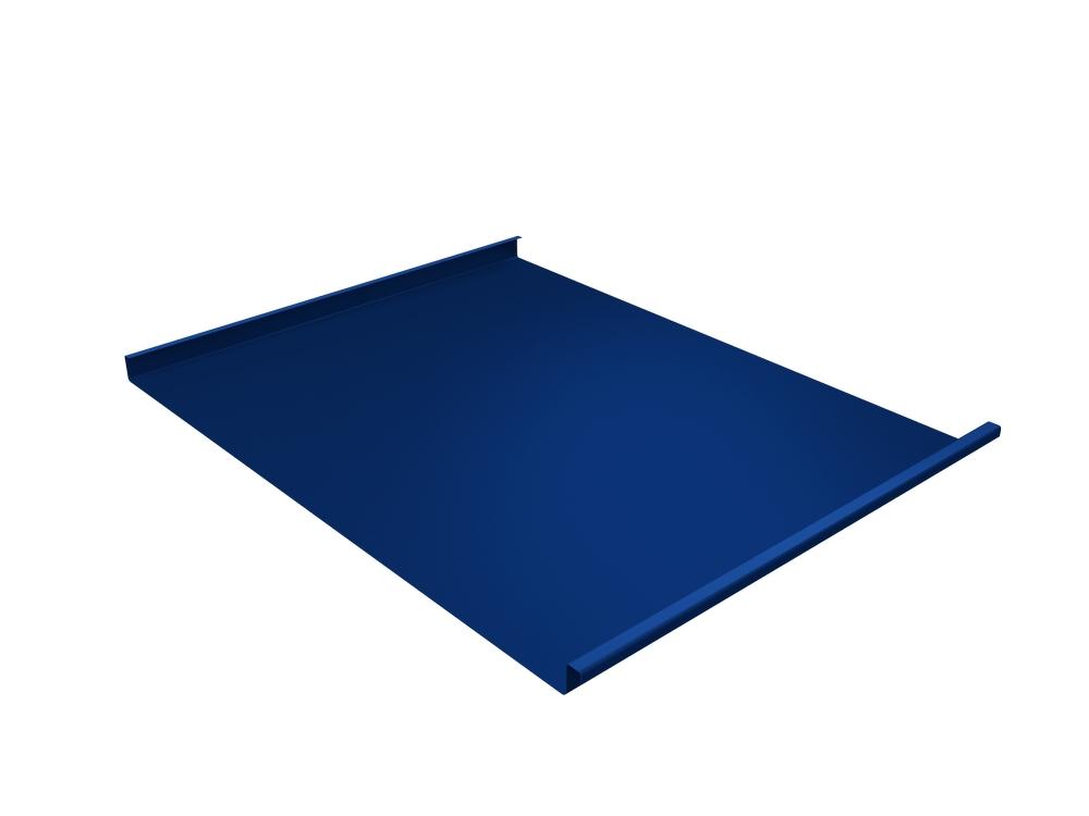Панель двойной стоячий фальц Grand Line 0,45 мм Полиэстер, RAL 5005 (синий)
