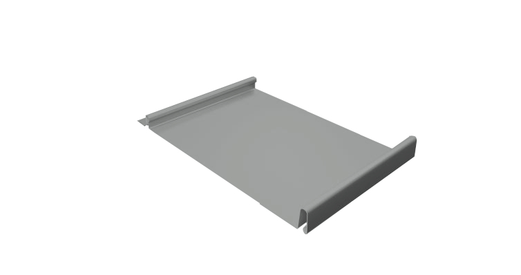 Панель кликфальц Pro Grand Line 0,45 мм, Zn