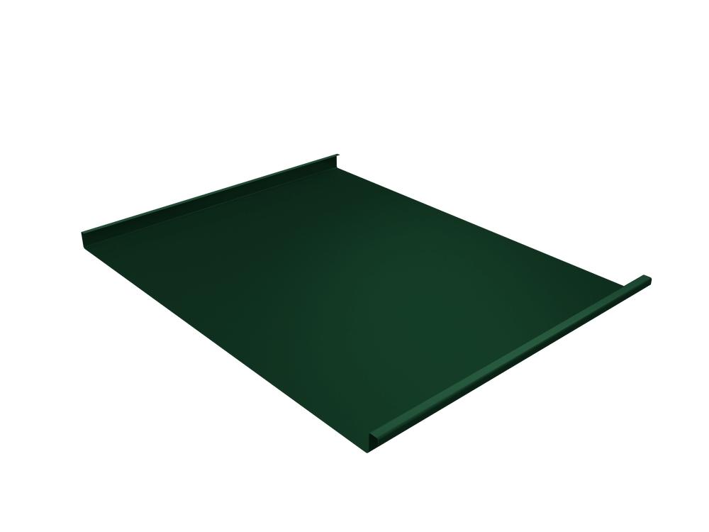 Панель двойной стоячий фальц Grand Line 0,45 мм Полиэстер, RAL 6005 (зеленый)